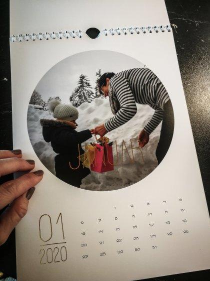 Sendmoments Fotokalender.