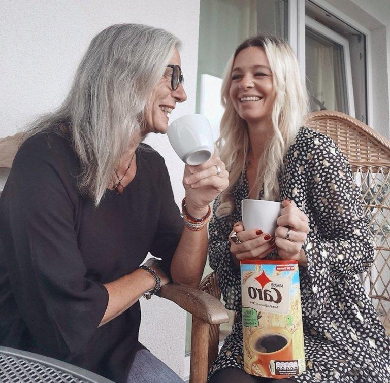Caro Landkaffee, koffeinfrei, Mama und Tochter